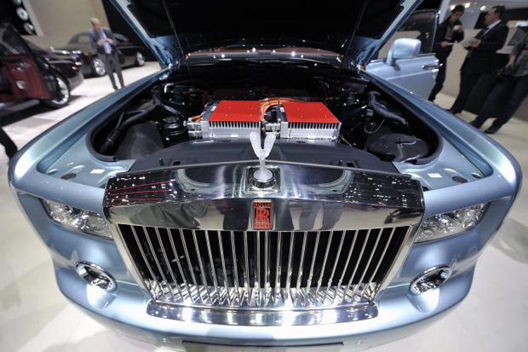 Rolls Royce under the bonnet