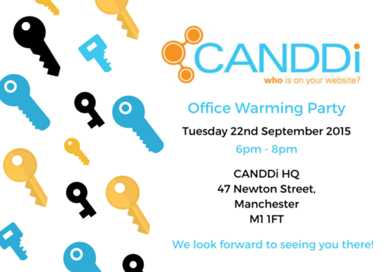 We've moved, and you're invited to the CANDDi Office Warming Party!