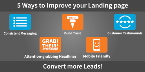 5 Ways To Improve Your Landing Page And Convert More Leads