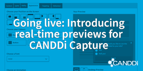 Going live: introducing real-time previews for CANDDi Capture