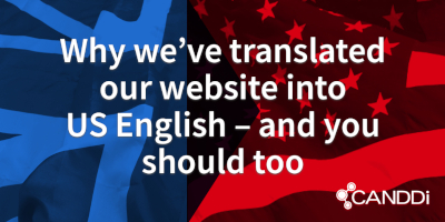 Why we've translated our website into US English – and you should too