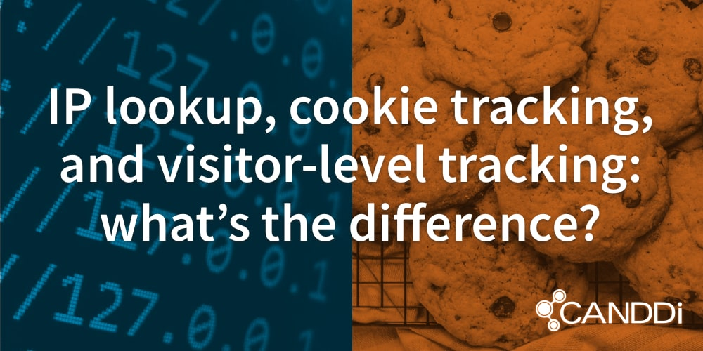 IP lookup, cookie tracking, and visitor-level tracking: what's the difference?