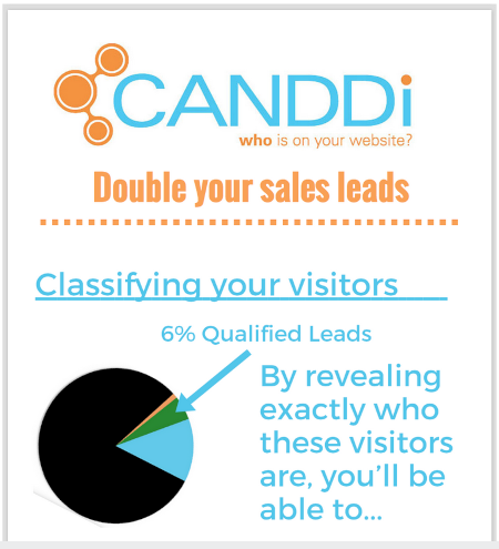 Double your sales leads with CANDDi