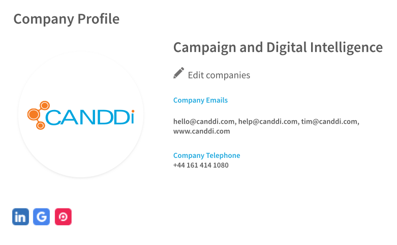 CANDDi's IP Lookup
